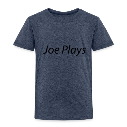 Joe Plays Black logo - Premium T-skjorte for barn