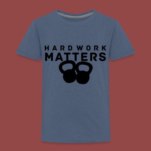 hardworkmatters - Kinderen Premium T-shirt