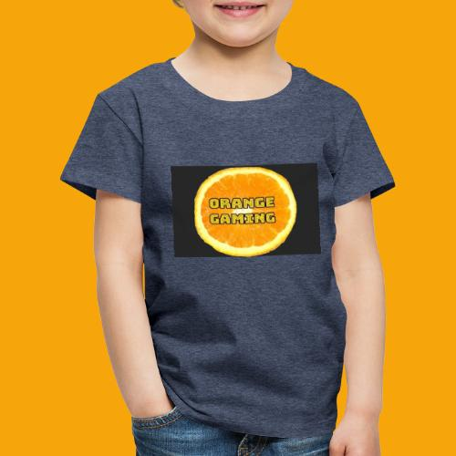Orange_Logo_Black - Kids' Premium T-Shirt