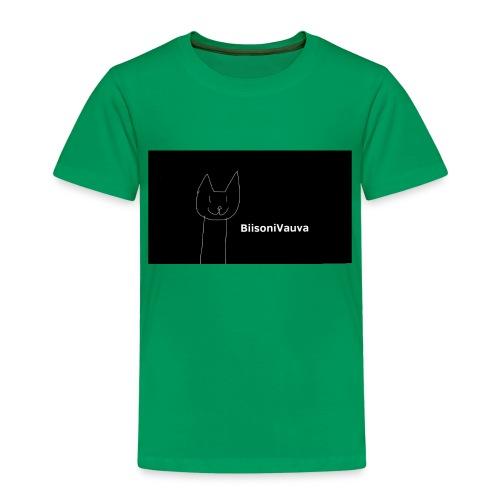 biisonivauva - Lasten premium t-paita