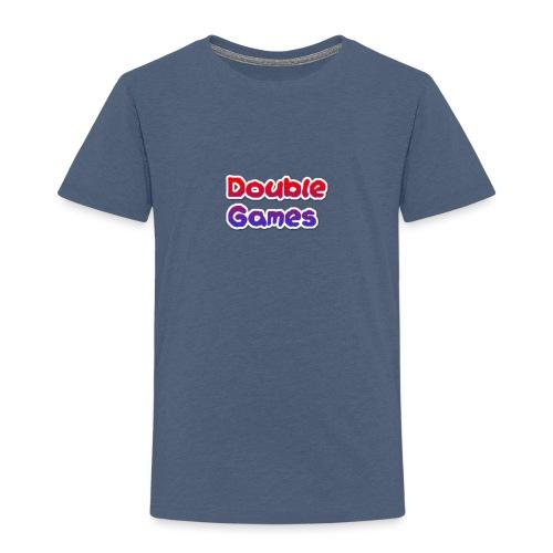 Double Games Tekst - Kinderen Premium T-shirt