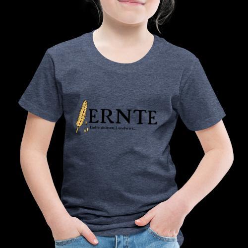 Ernte 1 Schwarz - Kinder Premium T-Shirt