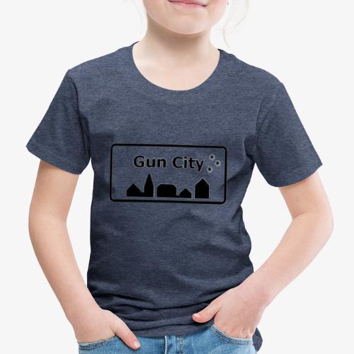 Gun City accessories - Børne premium T-shirt