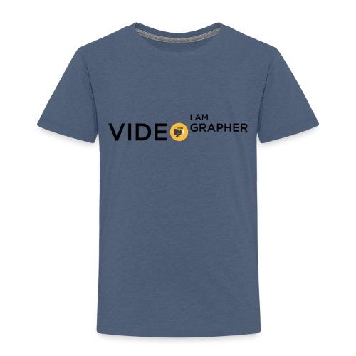 I AM VIDEOGRAPHER - 1 Black - Maglietta Premium per bambini