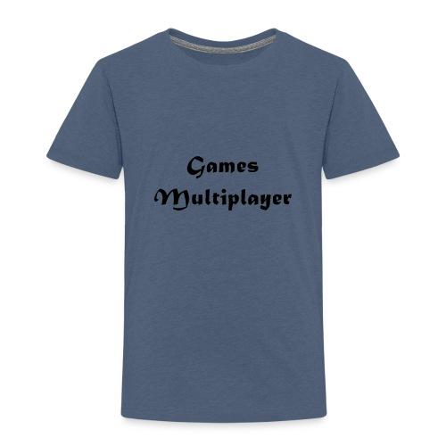 Games Multiplayer - Camiseta premium niño