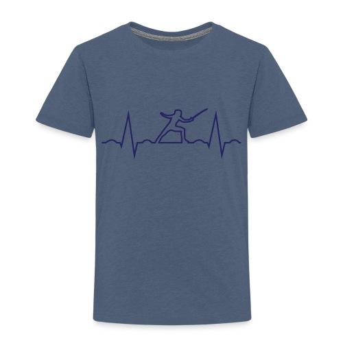 cardio scherma - Maglietta Premium per bambini