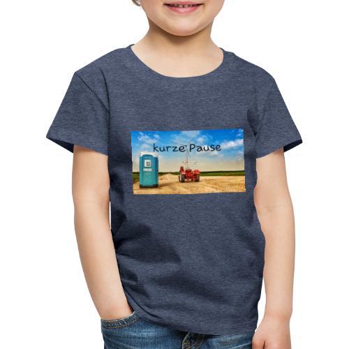 kurze Pause - Kinder Premium T-Shirt