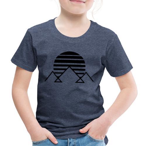 winterkind mountain sun - Kinder Premium T-Shirt