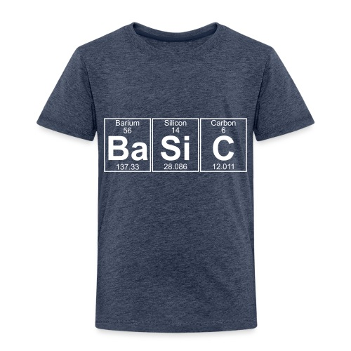 Ba-Si-C (basic) - Full - Kids' Premium T-Shirt