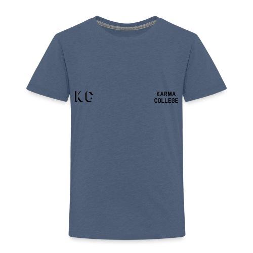 Front_Karma_College_Front - Kids' Premium T-Shirt
