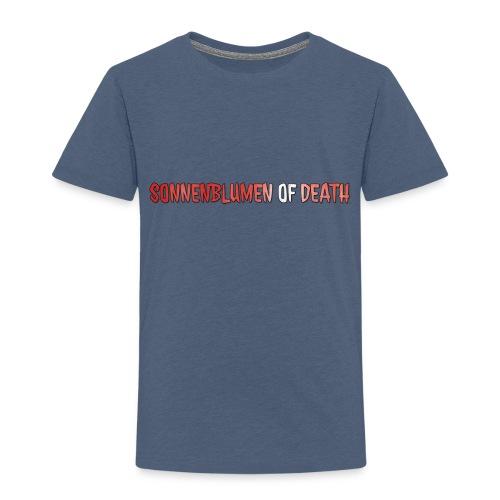 Sonnenblumen of Death Logo - Kinder Premium T-Shirt