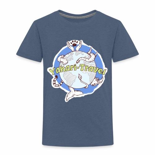 Logo von Yakari-Travel - Kinder Premium T-Shirt