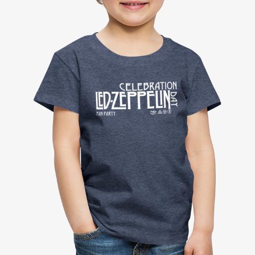 LZ Fan Celebration Day White - Maglietta Premium per bambini