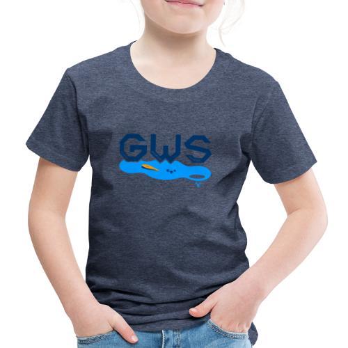 Global Warming Snowman - T-shirt Premium Enfant