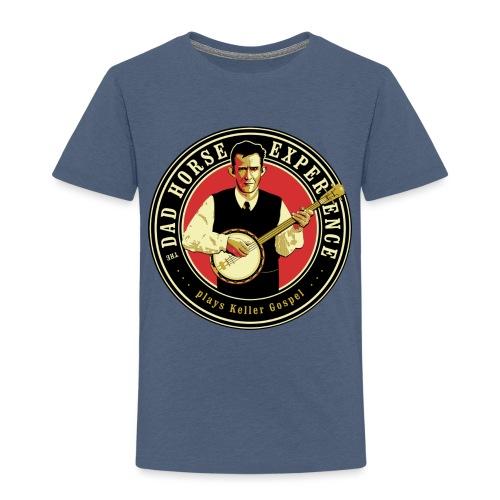 Dad Horse Kellergospel round - Kids' Premium T-Shirt