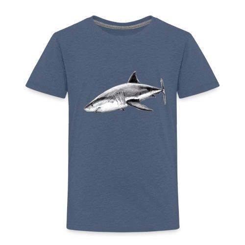 Great white shark - Tiburón blanco - Camiseta premium niño
