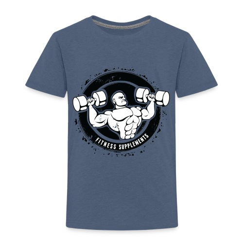 Fitness supplements - Børne premium T-shirt
