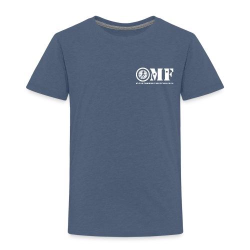 OMF white logo - Kids' Premium T-Shirt