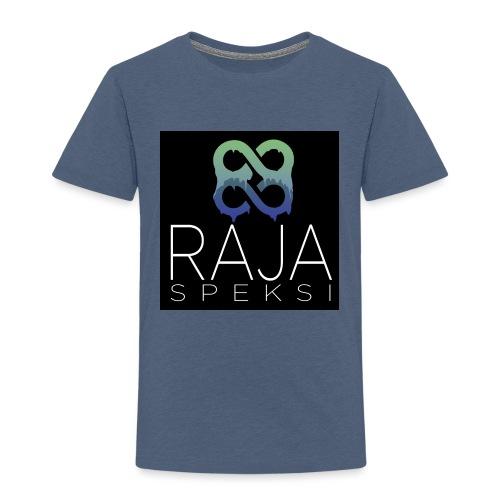 RajaSpeksin logo - Lasten premium t-paita