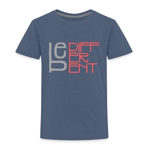 Be different - Fun Spruch Statement Sprüche Design - Kinder Premium T-Shirt