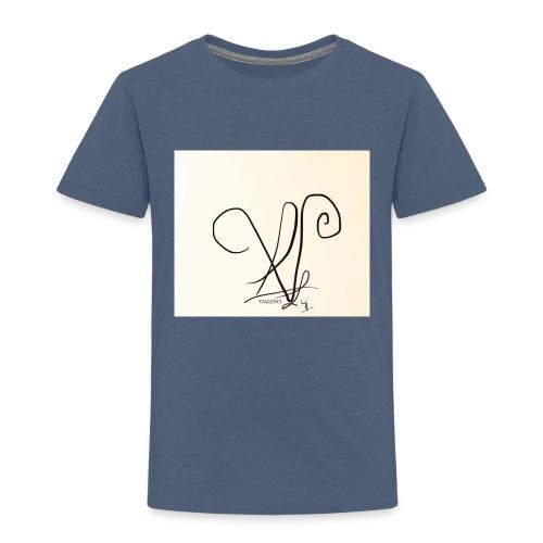 Vialenci symbol Design by Nadine vial - Kinder Premium T-Shirt