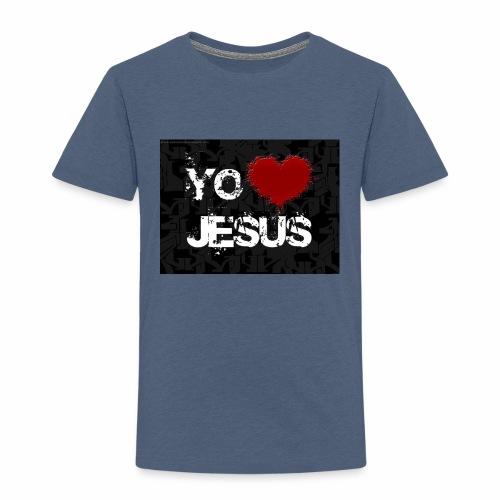 fondo cristiano - Camiseta premium niño