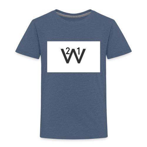 21wille Hoodie Barn - Premium-T-shirt barn