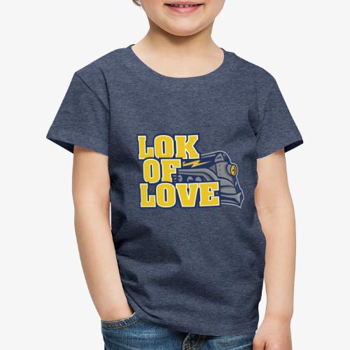 LOK OF LOVE 2 - Kinder Premium T-Shirt