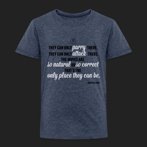 Nick Gillard Zitat - SP Credo - Kinder Premium T-Shirt