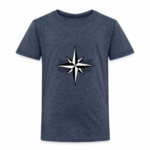 Simpel Kompas Design. - Kinderen Premium T-shirt
