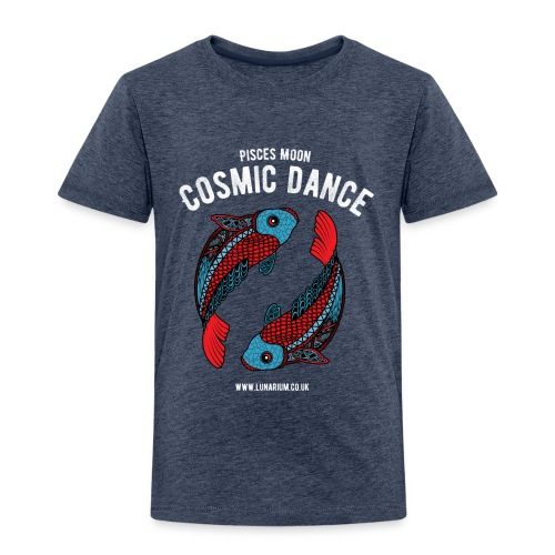 Pisces Moon Dark - Kids' Premium T-Shirt