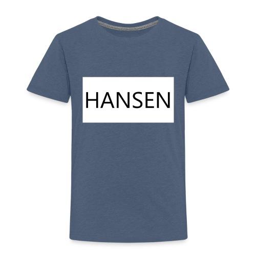 HANSENLOGO hvid - Børne premium T-shirt