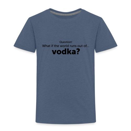 Vodka - Kinderen Premium T-shirt