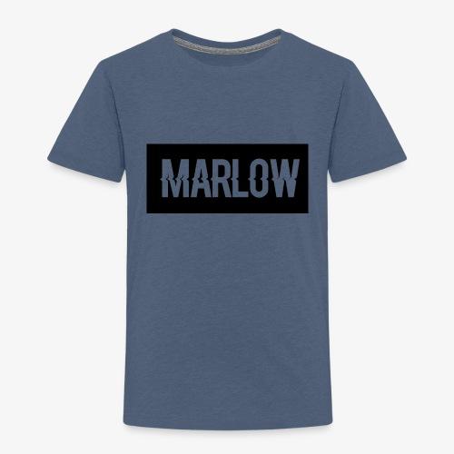 MARLOW Box Logo - Kids' Premium T-Shirt