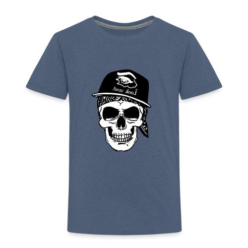 teschio rap - Maglietta Premium per bambini