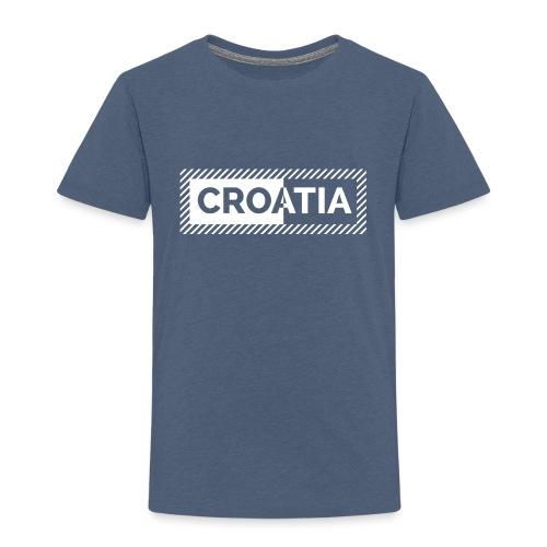CROATIA '' BIANCO '' DESIGN - Kids' Premium T-Shirt