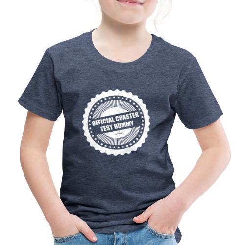 Mannequin officiel de test de montagnes russes - T-shirt Premium Enfant