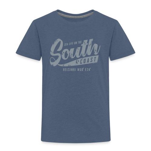 ETELÄRANNIKKO, SOUTH COAST HELSINKI COOL T-SHIRTS - Lasten premium t-paita