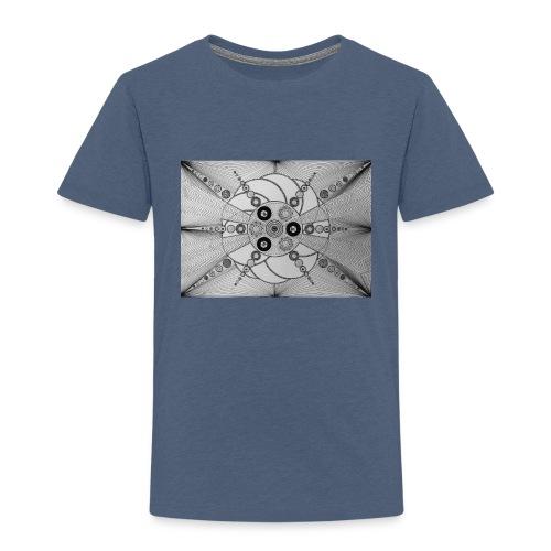 MandalArt Design star circles - Kinderen Premium T-shirt
