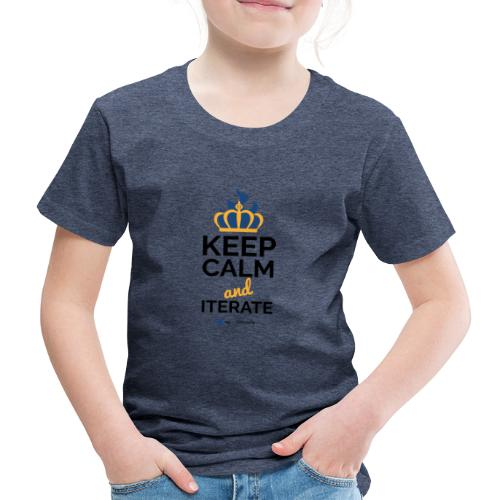 agiLE Leipzig | keep calm & iterate - Kinder Premium T-Shirt