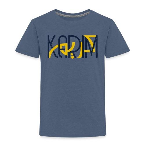 T-Shirt Prenom Arabe KARIM - T-shirt Premium Enfant