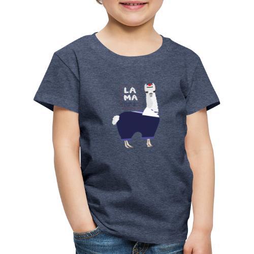Lama rine - T-shirt Premium Enfant