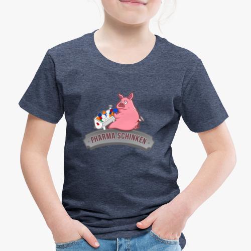 Pharma Schinken Schweinchen - Kinder Premium T-Shirt