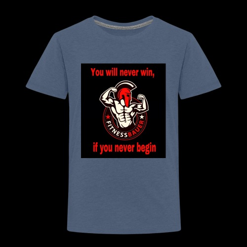 You will never win - Kinder Premium T-Shirt