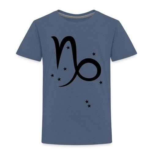 Sternzeichen & Sternbild Steinbock - Kinder Premium T-Shirt