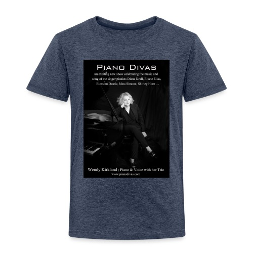 Piano divas official poster - Kids' Premium T-Shirt