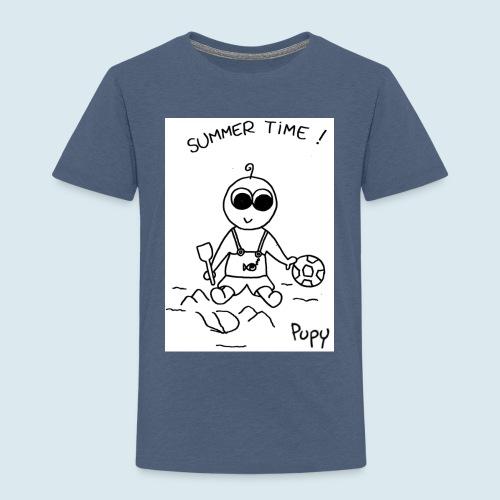 Pupy: summer time! - boy - Maglietta Premium per bambini