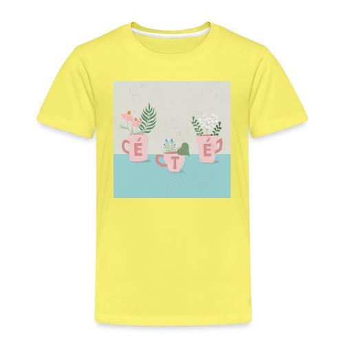 fleurs d'été - Maglietta Premium per bambini