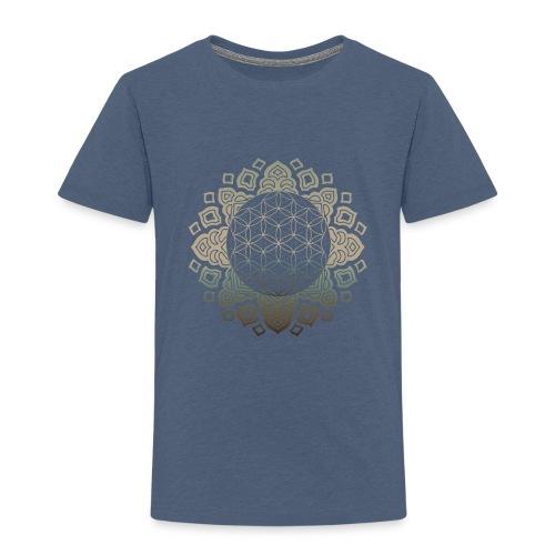 Flower of life Gold - Kinder Premium T-Shirt
