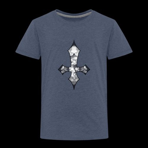 Skull Cross - Premium-T-shirt barn